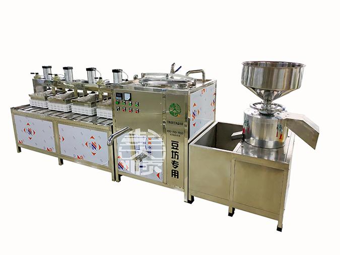 只有好的豆制品设备,才能一次次的赢得老客户的信任与购买